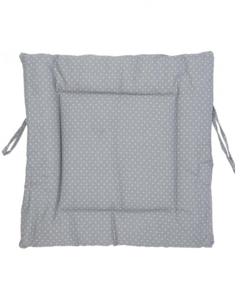 pillow with foam material grey - KT029.011 Clayre Eef