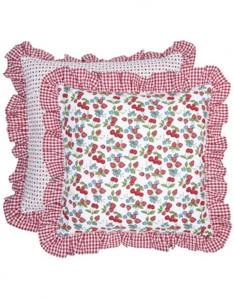 pillowcase red - SAC21 Clayre Eef