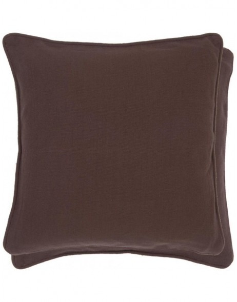 pillowcase chocobrown - KT030.039 Clayre Eef