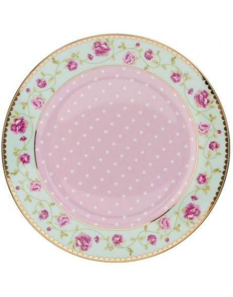 GARLAND OF ROSES small plate Ø 19 cm