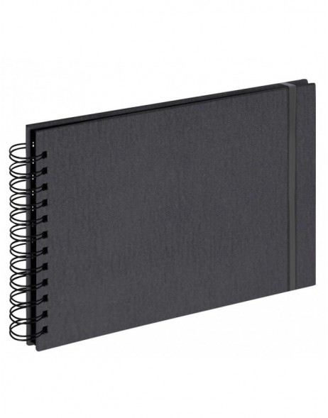 Photo album Yours - small spiral bound - anthrazite