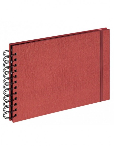 Photo album Yours - small spiral bound - red