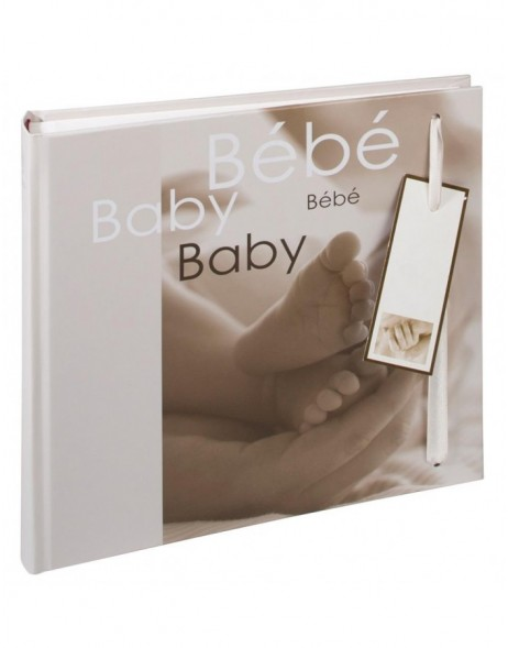 Small baby photo album NOA - beige, 25x24,5 cm