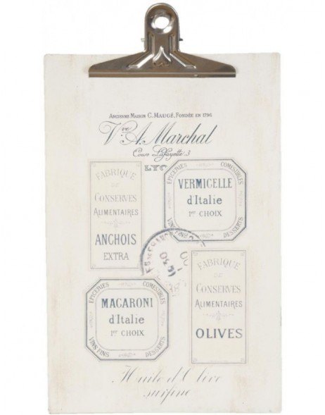 clipboard FRENCH natural - 6Y1432 Clayre Eef