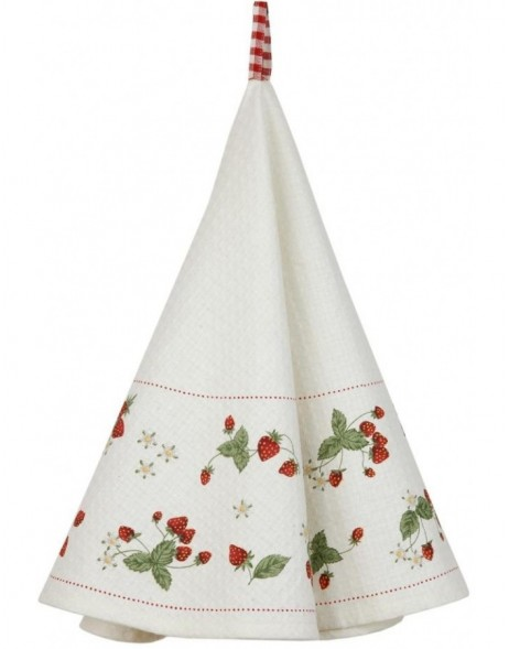 K�chentuch STRAWBERRY GARDEN � 80cm