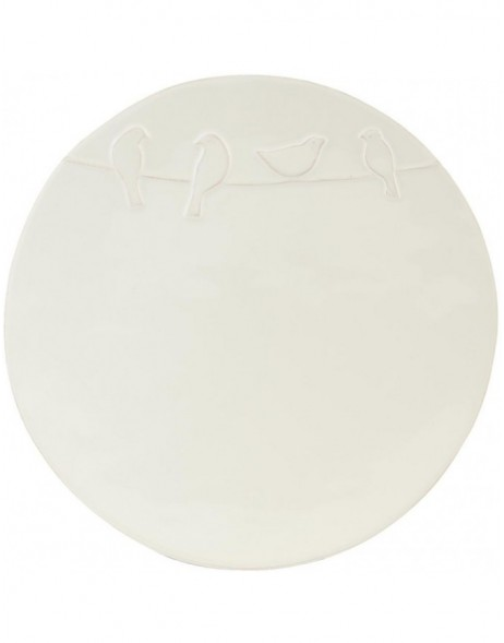 LBIFP Clayre Eef - plate LOVELY BIRDS 25 cm