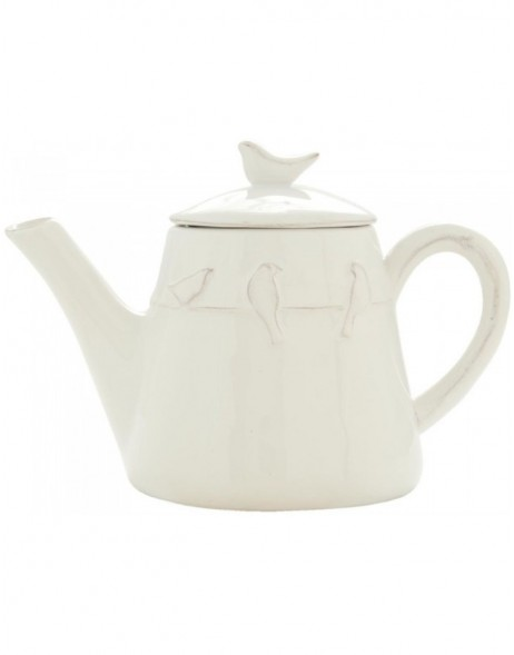LBITEteapot white  by Clayre Eef