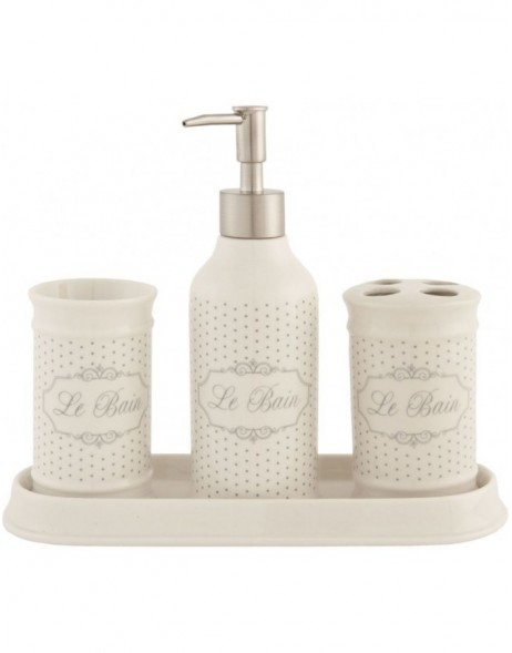 4 piece bathroom set  LE BAIN III
