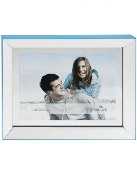 LIGHT portrait frame 13x18 cm blue