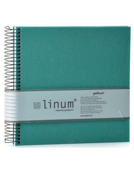 Note pad Linum turqoise