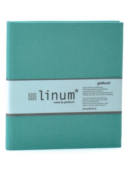 Linum diary in fresh green