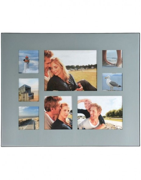 LIVING photo gallery frame for 8 pictures