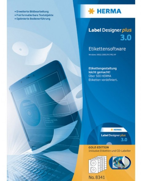 Label Designer plus 3.0 gold edition - German version