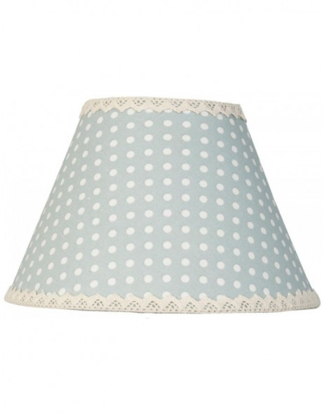 lamp shade 6LAK0254 Clayre Eef - grey-blue