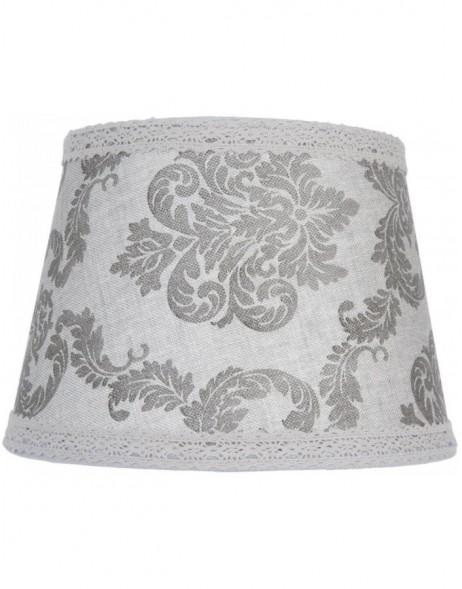 lamp shade 6LAK0304 Clayre Eef - grey/multicoloured