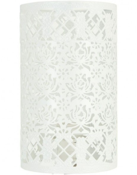 lamp shade 6LAK0314 Clayre Eef - white