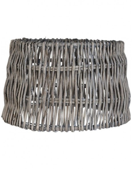 lamp shade 6LAK0321 Clayre Eef - brown/grey