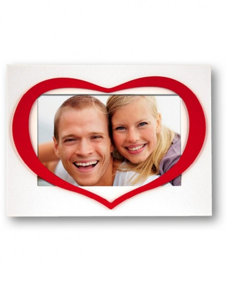 Lara Photo frame with heart 10x15cm and 13x18cm