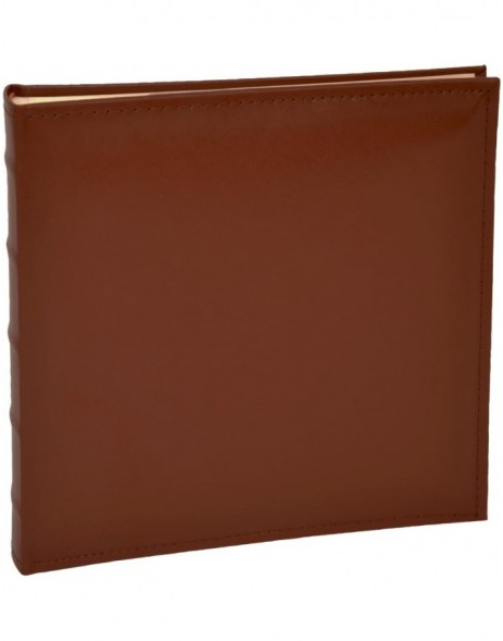 Leather slip-in album Bailey Brown 120 photos 11x17 cm
