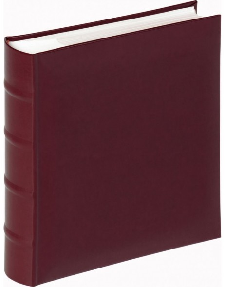 leather memo slip-in album Classic - wine-red