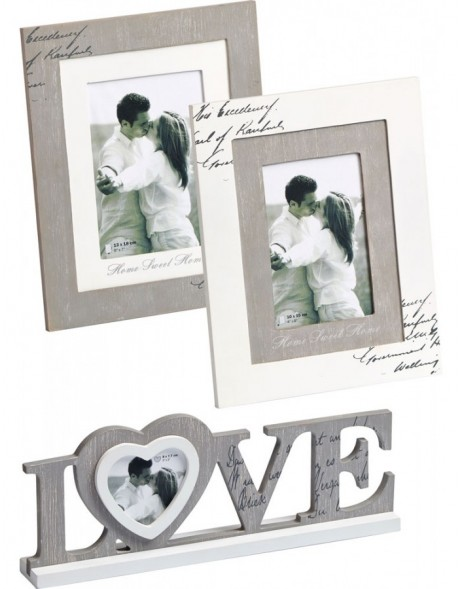 Love wooden frame 10x15 cm and 13x18 cm