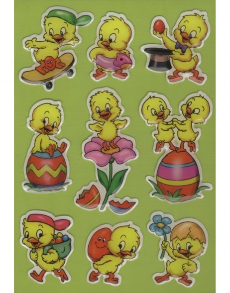 decorative labels Chicks - MAGIC Reihe