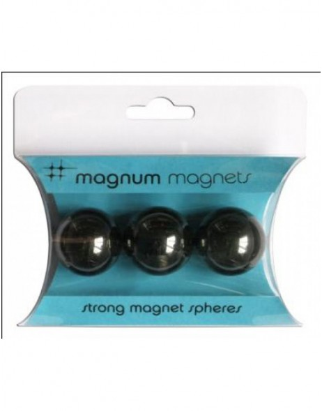 Marble magents 3 pieces Magnum Magnet