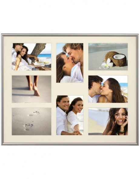 Madrid plastic gallery frame silver