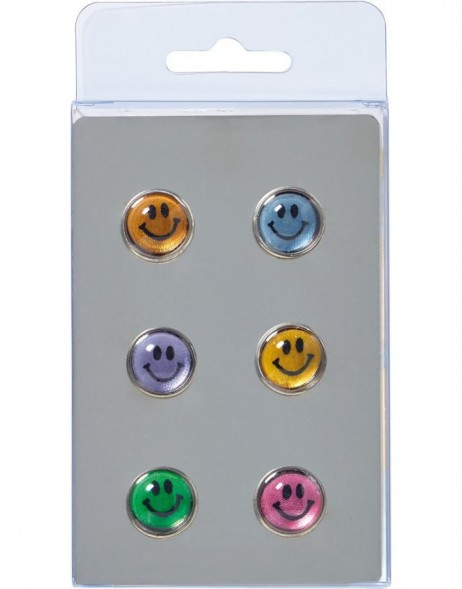 SMILEY magnets 6 pieces