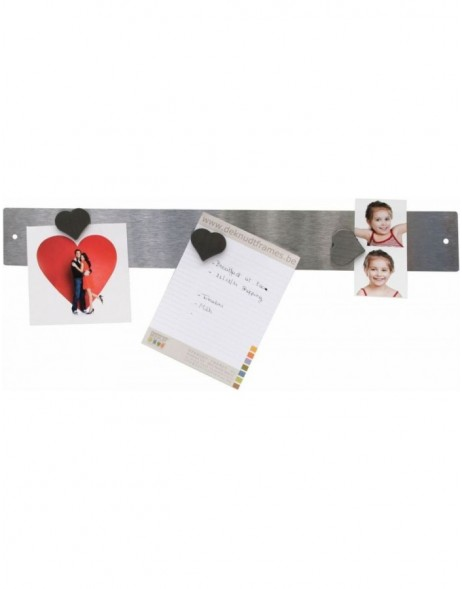 Magnetic stripe with 3 magnet in heart shape