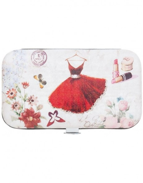manicure set DRESS 6x11x2 cm - FAP0139 Clayre Eef