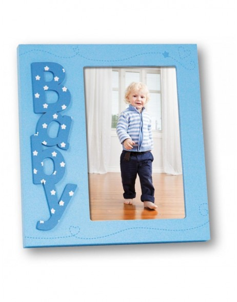 Marzia Baby photo frame pink and blue 7x10 cm and 10x15 cm