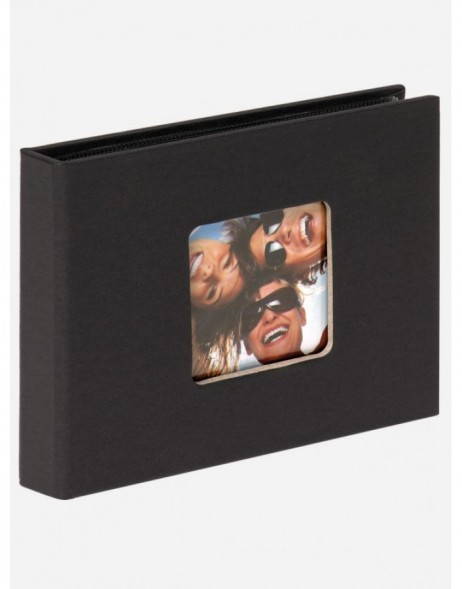 mini photo album FUN black 36 photos 10x15cm