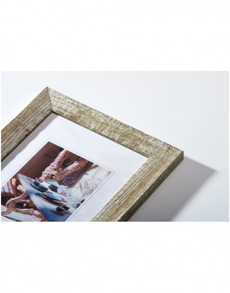 Mood wooden frame chalk white