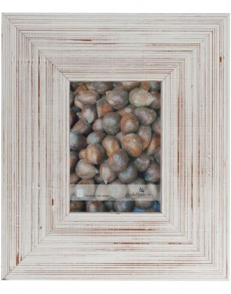 NATURE portrait frame 13x18 cm white brown