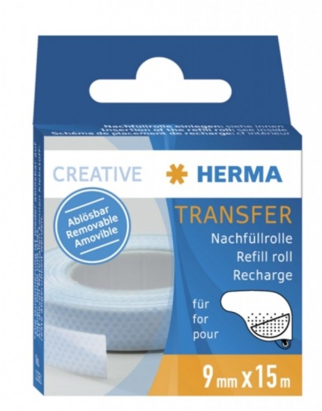 HERMA Transfer refill pack removable 15m