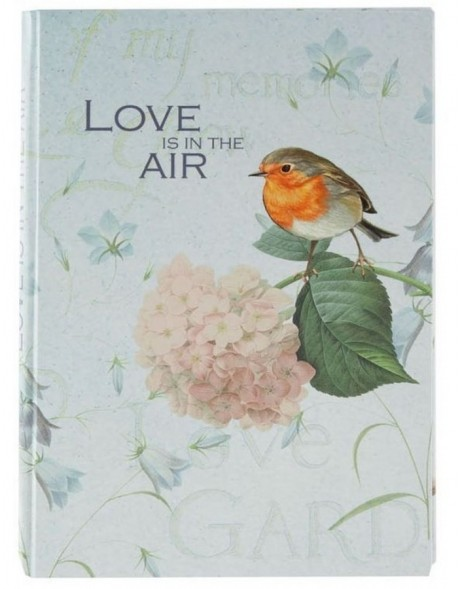 Notizbuch A5 Love is in the air
