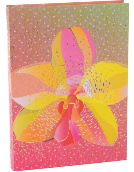 Notizbuch A5 Orchid