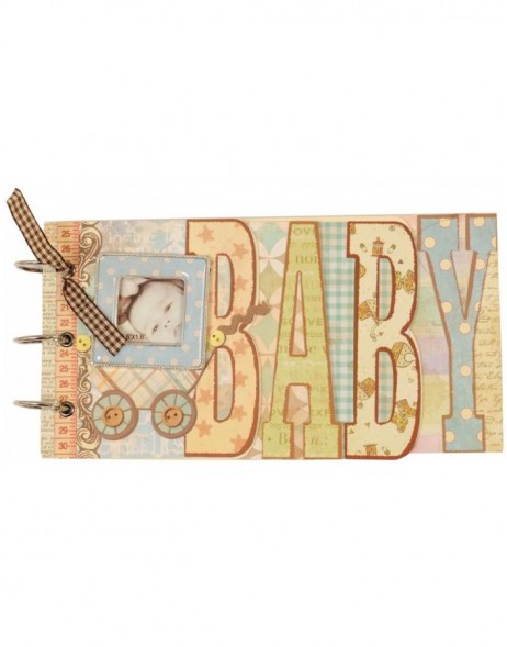 Notebook Baby 9x5 blue