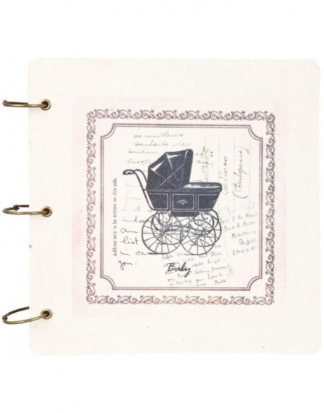 notebook PUSHCHAIR 6PA0318 by Clayre Eef