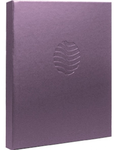 notebook Perla purple