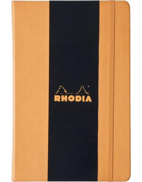 Notizbuch Rhodia A5 liniert orange