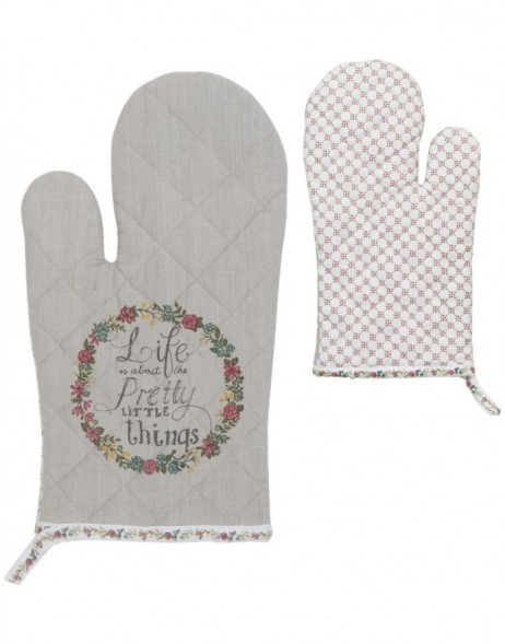 oven glove - Pretty Little Things 16x30 cm