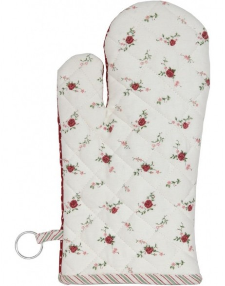 oven glove roses