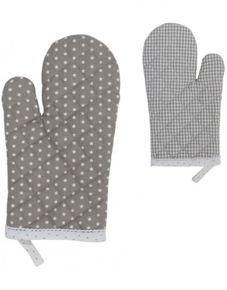 oven glove natural  - Twinkle Little Star