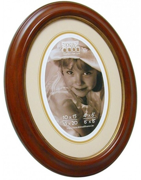 Oval photo frame S133 Deknudt