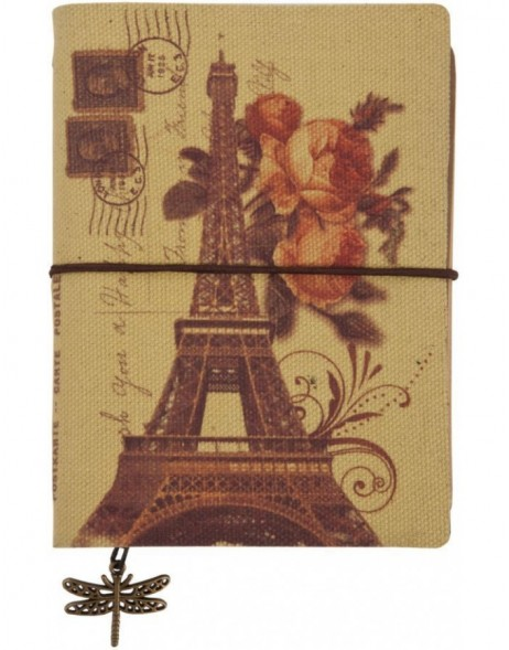 PARIS nostalgisches Notizbuch 9x12 cm