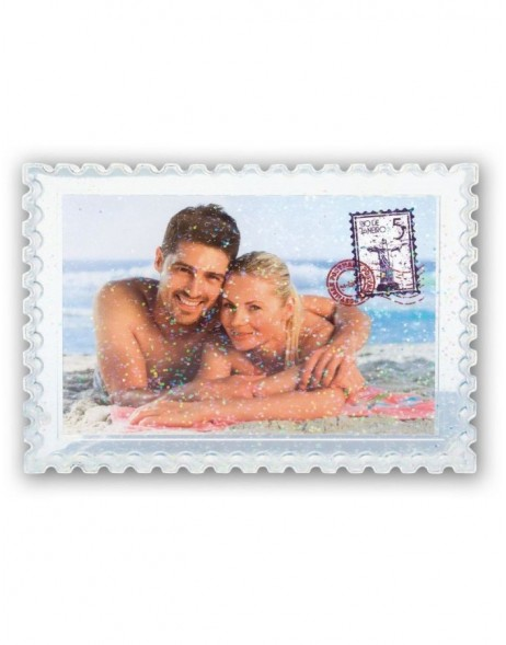 POSTCARD acrylic photo frame 10x15 cm