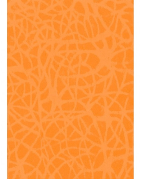 Papier 70x100 cm Handmade Loops orange