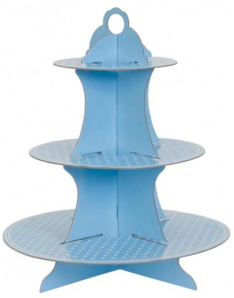 papier etagere blau 40 cm fotoalben. Black Bedroom Furniture Sets. Home Design Ideas